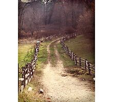 Sturbridge Path Photographic Print