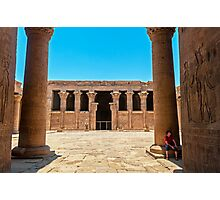 Temple of Horus4. Photographic Print