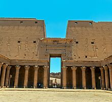 Temple of Horus5. by bulljup
