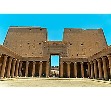Temple of Horus5. Photographic Print