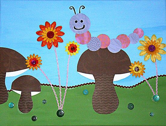 A Caterpillars Garden by HannahCo