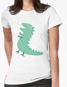Mr Dinosaur Womens Fitted T-Shirt