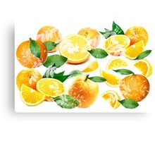 Bitter Oranges from Amalfi Canvas Print