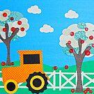 Tractor Farm by HannahCo