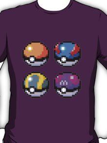 Pokeball Pixel Art  T-Shirt