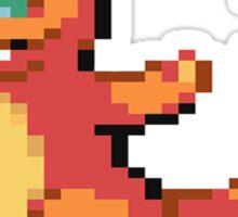 Pixel Charmander Sticker