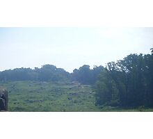 Little Round Top Photographic Print