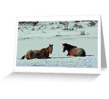 Frozen Apps Greeting Card