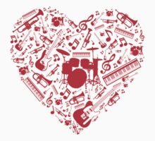 Music Love Kids Clothes