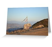 Graffiti Overlook Greeting Card