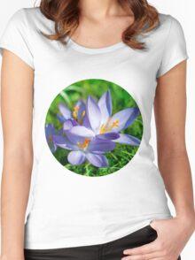 Crocus Women's Fitted Scoop T-Shirt