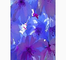 Blue Cherry Blossoms Unisex T-Shirt