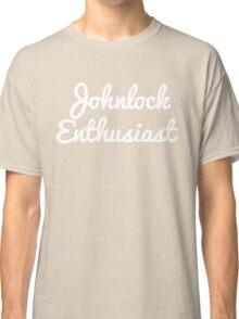 Johnlock Enthusiast Classic T-Shirt