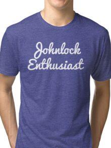 Johnlock Enthusiast Tri-blend T-Shirt