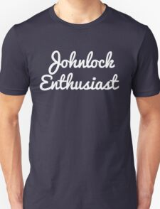 Johnlock Enthusiast Unisex T-Shirt
