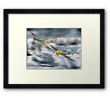 Corgi Aviation Ahrchive 1940 - 2000 Battle Of Britain Set ! Framed Print
