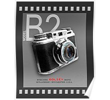 Bolsey 35mm Camera Ad Poster