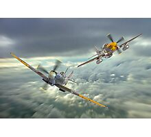 The Old Flying Machine Company - MH434 And Ferocious Frankie Photographic Print