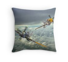 The Old Flying Machine Company - MH434 And Ferocious Frankie Throw Pillow