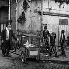 Streetcart, Istanbul by Lidia D'Opera