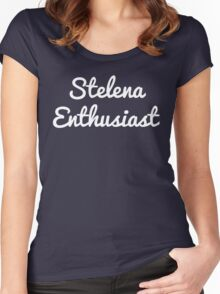 Stelena Enthusiast Women's Fitted Scoop T-Shirt