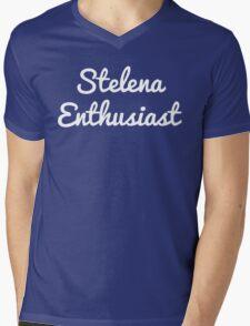 Stelena Enthusiast Mens V-Neck T-Shirt