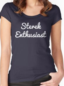 Sterek Enthusiast Women's Fitted Scoop T-Shirt