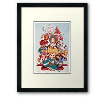 Fantasy Quest IX Framed Print