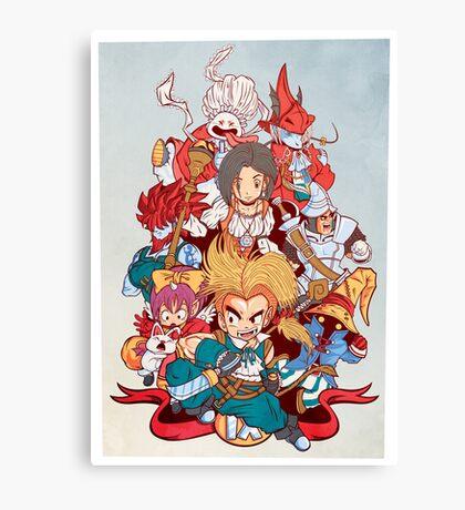 Fantasy Quest IX Canvas Print