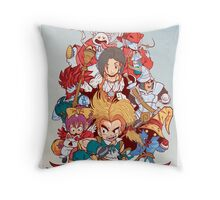 Fantasy Quest IX Throw Pillow
