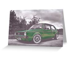 Green Pea Greeting Card