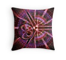 Gravitational Pull Throw Pillow