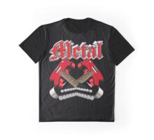 Metal rock Graphic T-Shirt