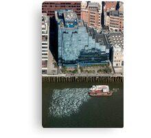 Thames Reflections Canvas Print
