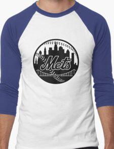 Mets Men's Baseball ¾ T-Shirt