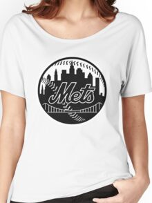 Mets Women's Relaxed Fit T-Shirt