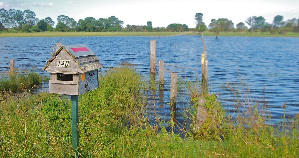 Flooded Mail by Penny Smith