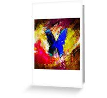 butterfly splash Greeting Card