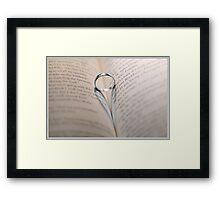 Loves Path Framed Print