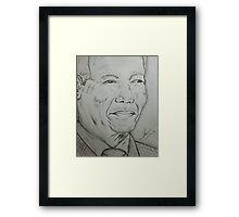 Madiba Framed Print