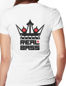 Real Bass Womens Fitted T-Shirt