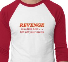 forget revenge Men's Baseball ¾ T-Shirt