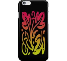 Smartphone Case - Abstract Botanical - Yellow Green Red iPhone Case/Skin