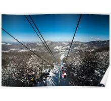 ski slopes Poster