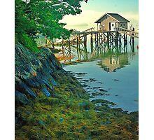 Damarascotta, Maine Photographic Print
