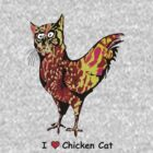 The Chicken-cat by rlnielsen4