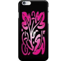 Smartphone Case - Abstract Botanical - Magenta iPhone Case/Skin