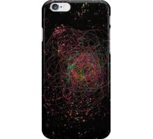 Abstract galaxy spectrum iPhone Case/Skin