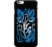 SmartIphone Case - Abstract Botanical - Cyan iPhone Case/Skin