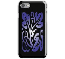 Smartphone Case - Abstract Botanical - Purple iPhone Case/Skin